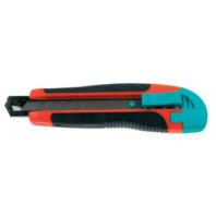 METRIE M10 - Odlamovací nůž ABS nůž 18 mm + 2 čepele Baupro 875510