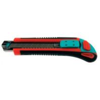 METRIE M18 - Odlamovací nůž ABS nůž 18 mm na kartě + 2 náhradní čepele Baupro 875518