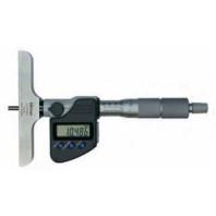 MITUTOYO Mikrometrický hloubkoměr DIGIMATIC 0-300 mm s výměnnými nástavci a výstupem dat, 329-251-30