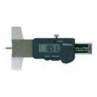 MITUTOYO Hloubkoměr ABSOLUTE DIGIMATIC 0-25 mm na měření hloubky dezénu s výstupem dat, 571-100-20