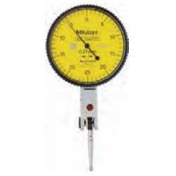MITUTOYO Páčkový úchylkoměr pr. 28 mm dělení stupnice 0,01 mm vodorovné provedení, 513-464-10E