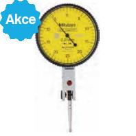 MITUTOYO Páčkový úchylkoměr pr. 40 mm dělení stupnice 0,01 mm vodorovné provedení, 513-404-10E
