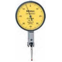 MITUTOYO Páčkový úchylkoměr pr. 40 mm dělení stupnice 0,01 mm vodorovné provedení s rubínovou kuličkou, 513-478-10E