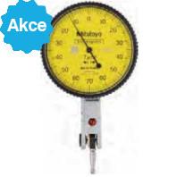 MITUTOYO Páčkový úchylkoměr pr. 40 mm dělení stupnice 0,001 mm vodorovné provedení, 513-401-10E