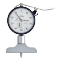 MITUTOYO Hloubkoměr s číselníkovým úchylkoměrem 0-10 mm, 7210