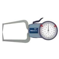 MITUTOYO Číselníkový úchylkoměr 0-20 mm s měřícími rameny pro vnější měření IP65, 209-405