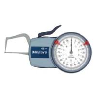MITUTOYO Číselníkový úchylkoměr 0-10 mm s měřícími rameny pro vnější měření IP65, 209-401