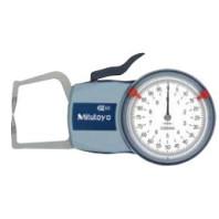 MITUTOYO Číselníkový úchylkoměr 0-10 mm s měřícími rameny pro vnější měření IP65, 209-402