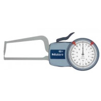 MITUTOYO Číselníkový úchylkoměr 0-20 mm s měřícími rameny pro vnější měření IP65, 209-407