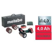 METABO S 18 LTX 115 Set, 18V Aku satinační bruska, 60015487