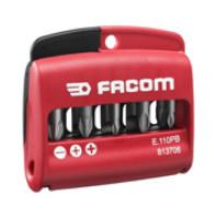FACOM Sada 10 bitů typ 1 TORX E.112PB