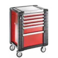 FACOM Montážní vozík JET+3 se 6 zásuvkami červený JET.6M3