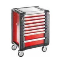 FACOM Montážní vozík JET+3 s 8 zásuvkami červený  JET.8M3