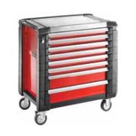 FACOM Montážní vozík JET+4 s 8 zásuvkami červený  JET.8M4