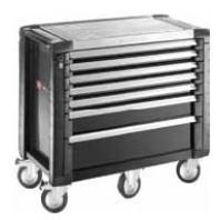 FACOM Montážní vozík JET+5 se 7 zásuvkami černý JET.7GM5