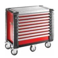 FACOM Montážní vozík JET+5 s 9 zásuvkami červený JET.9M5