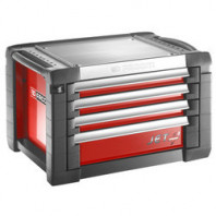 FACOM Skříňka JET+3 se 4 zásuvkami červená JET.C4M3