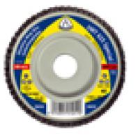 KLINGSPOR Brusný lamelový talíř rovný SMT 625, 125 x 22,23 mm, zrno 80 254057