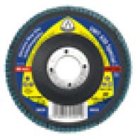 KLINGSPOR Brusný lamelový talíř, multipojivo  vydutý SMT 630, 125 x 22,23 mm, zrno 36 191717