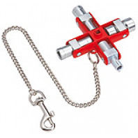 KNIPEX Klíč na rozvodné skříně univerzální 001106