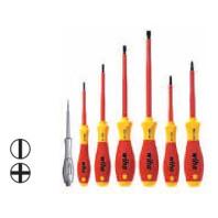 WIHA Sada šroubováků SoftFinish electric 320NK6 plochý/Phillips, 7dílná 00834