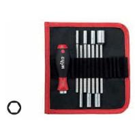 WIHA Sada nástrčných klíčů U106T8 SYSTEM 6 šetihranný, 8dílná 27712