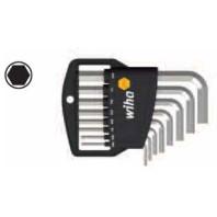 WIHA Sada zástrčných klíčů 351HZ8 v držáku Classic, 8dílná 01176