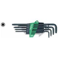 WIHA Sada zástrčných klíčů TORX 366SZ13 v držáku ProStar, 13dílná 24312