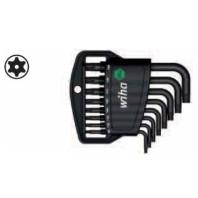 WIHA Sada zástrčných klíčů TORX Tamper Resistant 363TRH8 v držáku Classic, 8dílná 36462