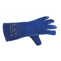 CANIS Rukavice PATON zimní, ze štípené hověziny, modré vel. 11, 361000260011