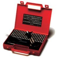 Razidla sestavovací - Samostatné znaky do kufříkové sady, profil ostrý, 1ks, výška 4 mm 176340