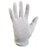 CANIS Rukavice MAWA bavl. bílé s terčíky vel. 8 331000210008