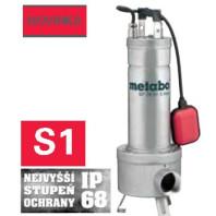 METABO 1470W Staveništní čerpadlo SP 28-50 S INOX, 60411400