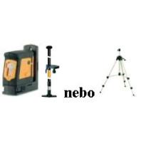Sada Geo Fennel FL 40 Pocket HP - křížový laser + rozpěrná tyč KS 3 nebo klikový stativ 30-G5414