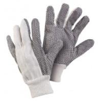 CANIS Rukavice GABO bavlna s PVC terčíky vel. 10 331000116310