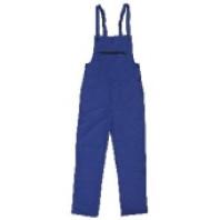 CANIS Kalhoty FRANTA montérkové s náprsenkou modré 103001040000