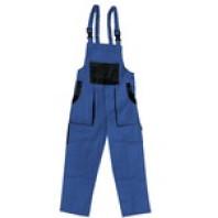 CANIS Kalhoty LUX MARTIN montérkové s náprsenkou modro-černé zimní 103000941100
