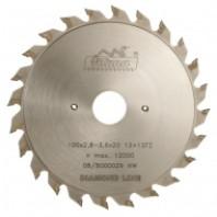 Předřezový kotouč PKD 100x2,8-3,6x20 5373 12+12 FZ - DIA 5,0 mm