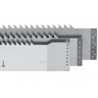 Pilový list pro strojní rámové pily 160x2,0 5360.01 NV - trojúhelníkové ozubení 75Cr1
