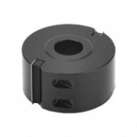 Hoblovací hlava s VBD 100x50x30 2z, NH 50/100-R-Alu 55151100