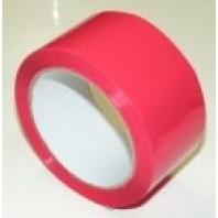Páska lepící červená, 50 mm x 66 m 700 007947
