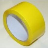 Páska lepící žlutá, 50 mm x 66 m 700 007948