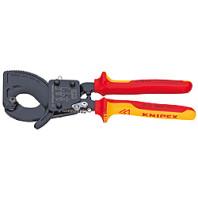 KNIPEX 9626250 Kleště na kabely ráčnové 250 mm 9536250