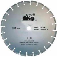 MAGG Diamantový kotouč řezný segmentový BUTCH 300 x 3,2/10 x 25,4 mm na asfalt DKS300