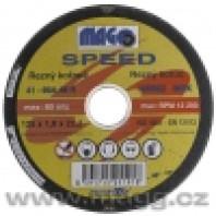MAGG Řezný kotouč na nerez 115 x 1,0 x 22,0 mm MAGG SPEED RNQS11510220