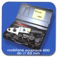 KONRADSouprava600-Polyfúznísvářečkaprosvařovánítermoplastů