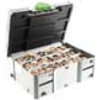 Festool Sortiment DOMINO buk DS 4/5/6/8/10 1255x BU 498899