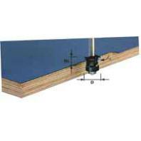 Festool Fazetovací lícovací fréza stopka 8 mm HW S8 D24/0° +45° 491026