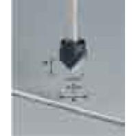 Festool Drážkovací fréza ve tvaru V stopka 8 mm HW S8 D18-90° (Alu) 491444