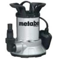 METABO 450W Ponorné čerpadlo na čistou vodu s plochým sáním TPF 6600 SN, 0250660006
